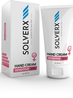 Sensitive Skin Woman Hand Cream